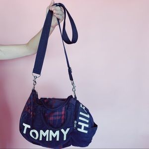 Tommy Hilfiger 90s Vintage Small Duffle Bag